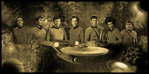 "Star Trek ""Original Series"" Limited Edition Geekograph Metal Art"
