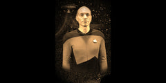 Star Trek TNG Anniversary Ltd. Ed. Geekograph Mini Metal Art