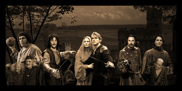 The Princess Bride Geekograph Limited Edition Metal Art