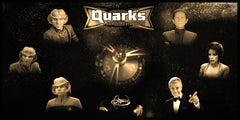 "Star Trek ""Quark's Bar"" Limited Edition Geekograph Metal Art"