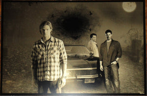 Supernatural: The Boys Geekograph Limited Edition Metal Art