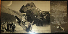 Firefly Serenity Hero of Canton Jayne Cobb and Crew Geekograph Limited Edition Metal Art