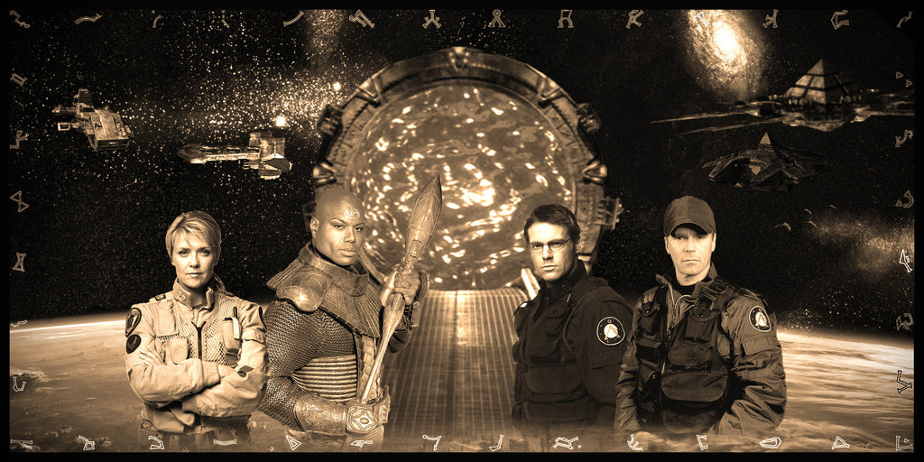 Stargate SG-1 Geekograph Limited Edition Metal Art