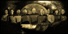 "Star Trek ""The Next Generation"" Limited Edition Geekograph Metal Art"