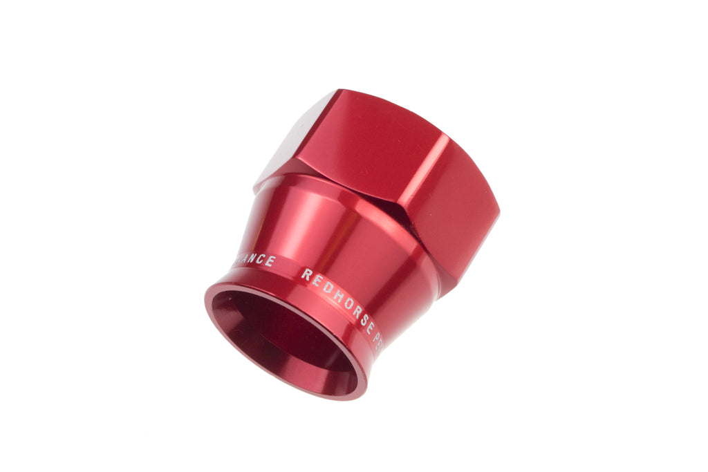 -08 PTFE hose end socket - red..
