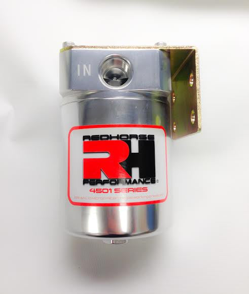 '-06 High Performance Fuel Injection Filter - Clear