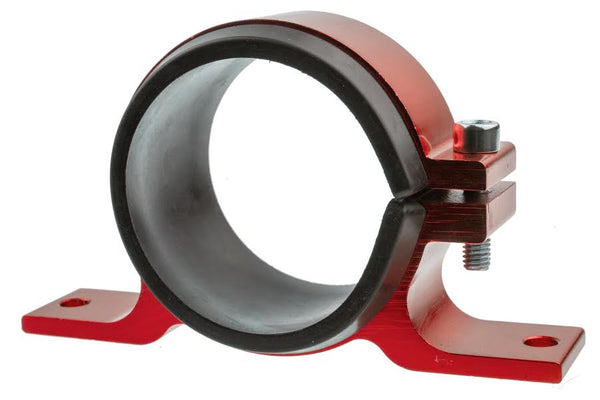 Aluminum Holder for 4651 Fuel Filter - Red