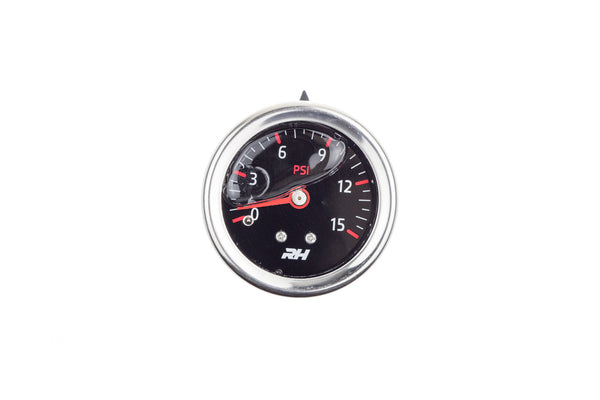 Liquid Filled Fuel  Pressure Guage - 1/8
