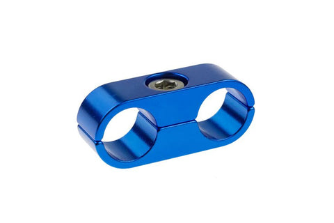 -04 to -04 Hose Separator - Blue