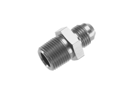-03 Straight Male Adapter to -04 (1/4