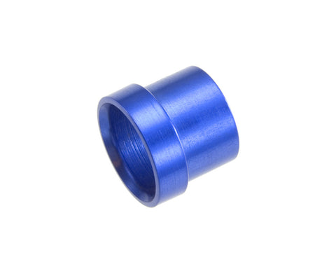 -06 Aluminum Tube Sleeve - Blue (use with AN818-06) - Blue - 2/pkg