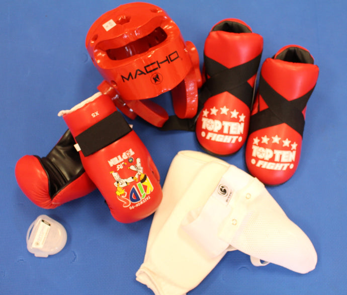Full Junior Taekwon-Do Sparring kit (Female)