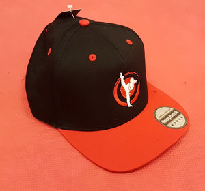 Snap back sports hat