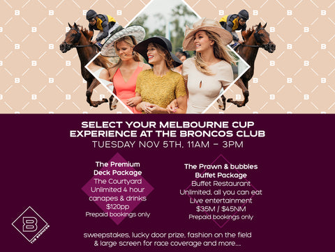 MELBOURNE CUP BUFFET LUNCHEON 2019