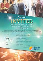 Networking Afternoon presented by IGT