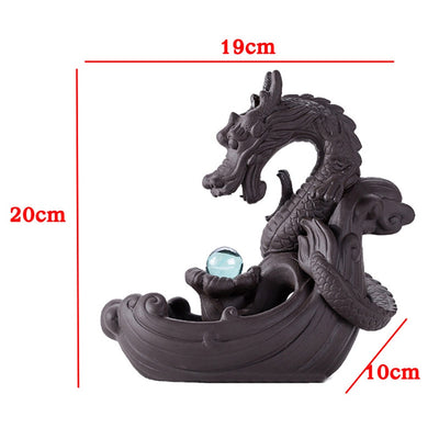 Fontaine d'encens backflow Dragon