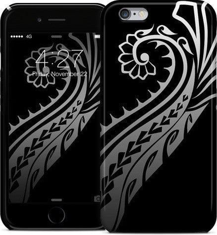 Tribal Splash Black Phone Case