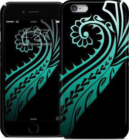 Tribal Splash Teal Phone Case