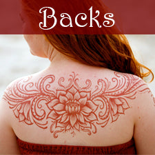 Kona Henna Studio - Backs Gallery