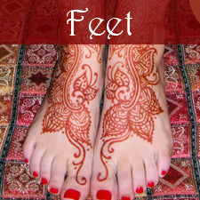 Kona Henna Studio - Feet Gallery