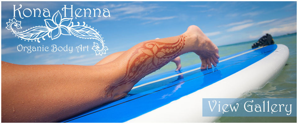 Professional Henna Tattoo Kits and World Class Henna Studio. Featuring Professional Henna Artists, located in Kailua Kona, Hawaii.