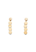 STATEMENT DROP WOODEN EARRINGS (WHITE)