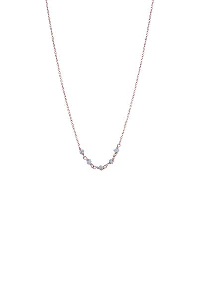 Diamond in the Rough Necklace - 14k
