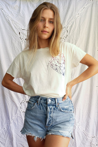Heart of Flowers Tee