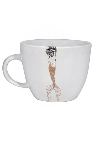 wings hawaii mermaid mug with original artwork coffee tea kitchen goods