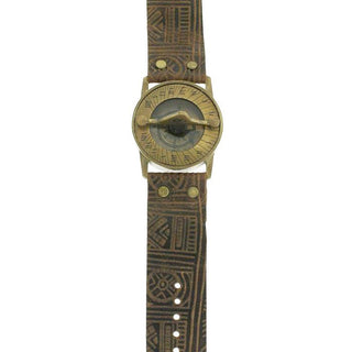 Tribal Pandeia Sundial Compass Watch - Wings Hawai'i