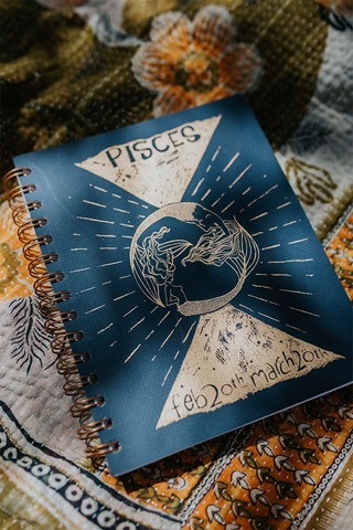 Zodiac Notebook - Pisces