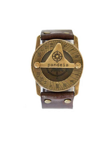 Totem Pandeia Sundial Compass Watch - Wings Hawai'i