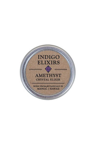 amethyst crystal body balm hawaii skin care organic essential oils indigo elixers made from botanicals in manoa hawaii