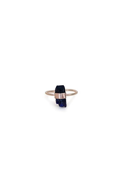 Wrapped Azurite Ring