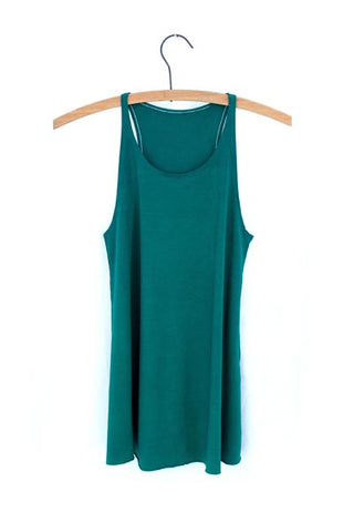 Ryanne Swing Tank - Mermaid Blue