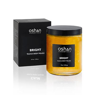 oshan bright body polish scrub bath shower self care maui hawaii organic essential oils