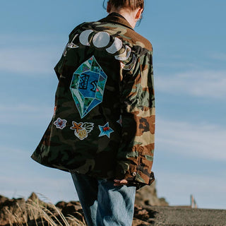 Moon Phases Camo Jacket