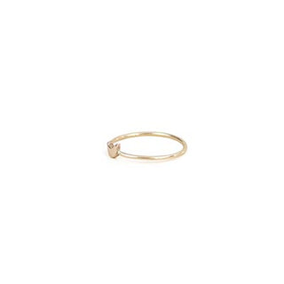 wings hawaii fine jewelry crescent moon ring 14 karat yellow gold dainty minimalist