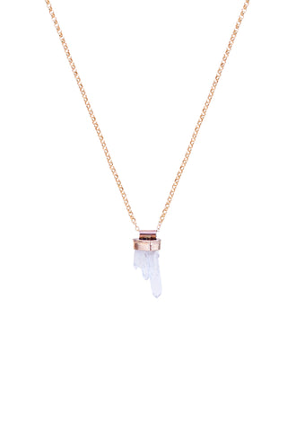 Multi Quartz Crystal Necklace