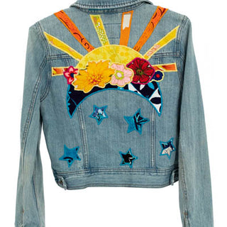 Sun + Moon Denim Jacket