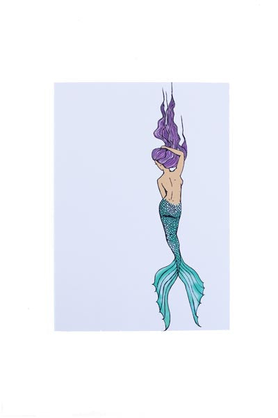 Drifter Mermaid Card