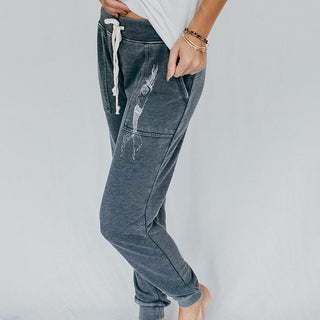 Drifter Mermaid Sweat Pants - Washed Navy