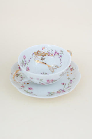 Seastar Mermaid Teacup Set