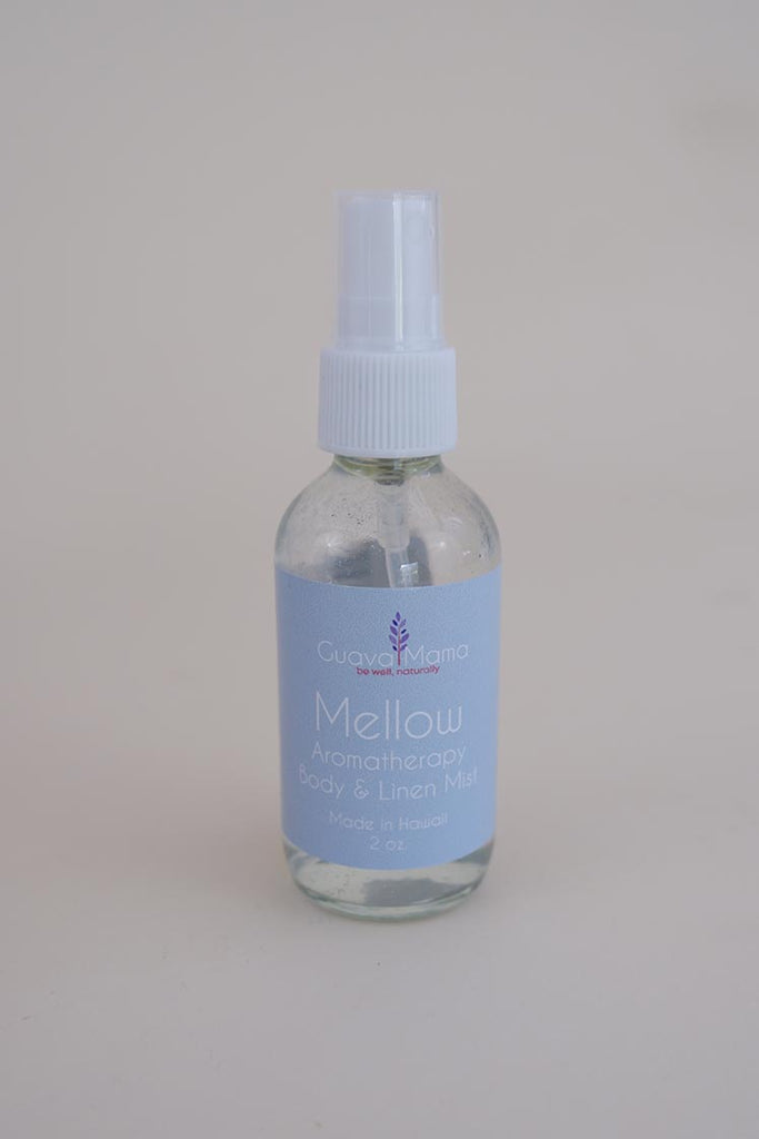 guava mama mellow aromatherapy body and linen spray made in hawaii