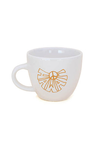 ceramic mug hawaii peace sign decal wings hawaii