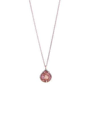 Teardrop Imperial Topaz Necklace