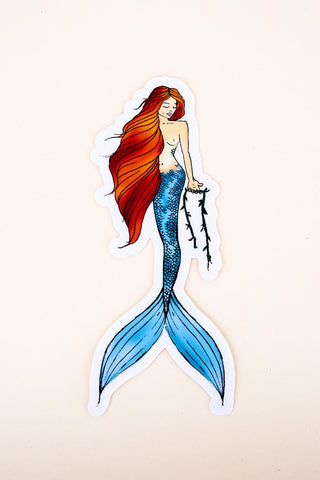 Maile Mermaid Sticker