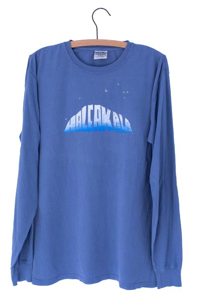 Haleakala Long Sleeve Shirt - Blue