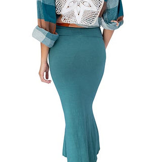 Teal Mermaid Skirt