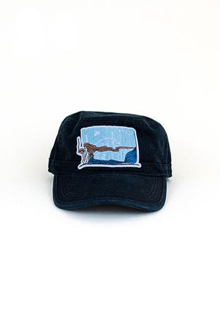 Mermaids Smoke Seaweed Patch Hat